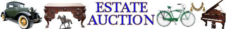 estate auction banner